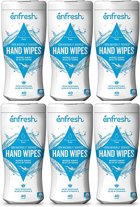 Alcohol Free Vorname Antibacterial Wet Wipe Tissue Clean Hand Health Care 60 Wipes//Pack,Wet Wipes Gentle Clean for Hands and Face
