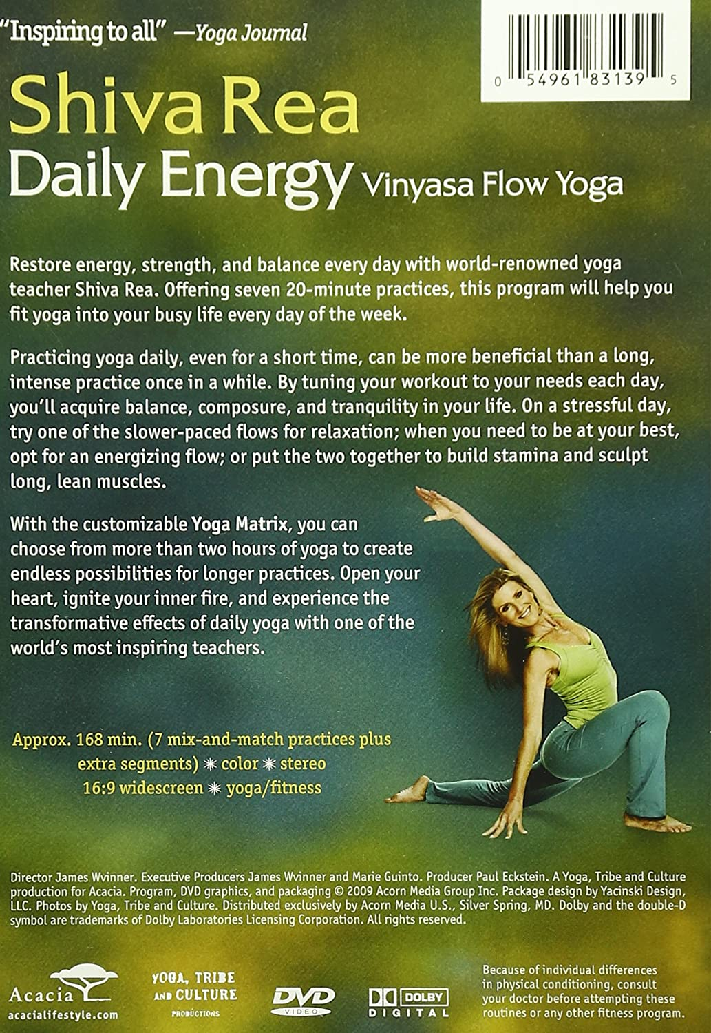shiva rea daily energy vinyasa flow yoga
