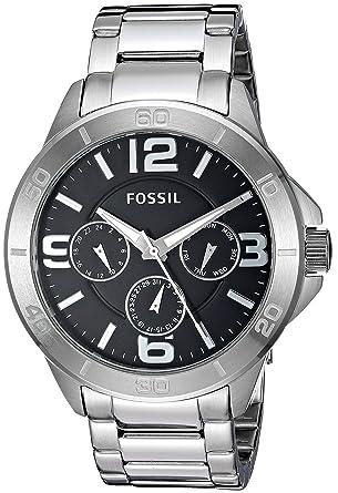 30c9c234829 Amazon.com  Fossil Men s Modern Century Quartz Stainless Steel Chronograph  Watch