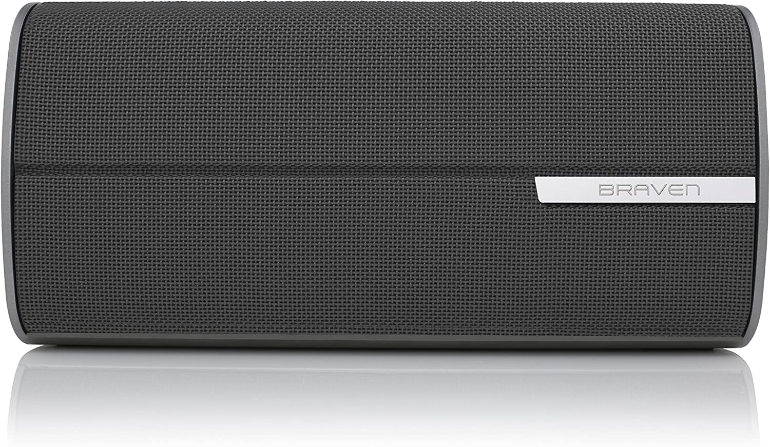 Braven 2200m Portable Bluetooth Speaker Graphite//Dark Gray 10 Hour Playtime 8800 mAh