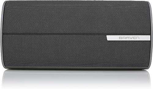 Braven 2200m Portable Bluetooth Speaker 8800 mAh 10 Hour Playtime – Graphite Dark Gray