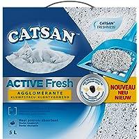 Catsan Active Fresh żwirek dla kotów z kontrolą zapachu, 5 l