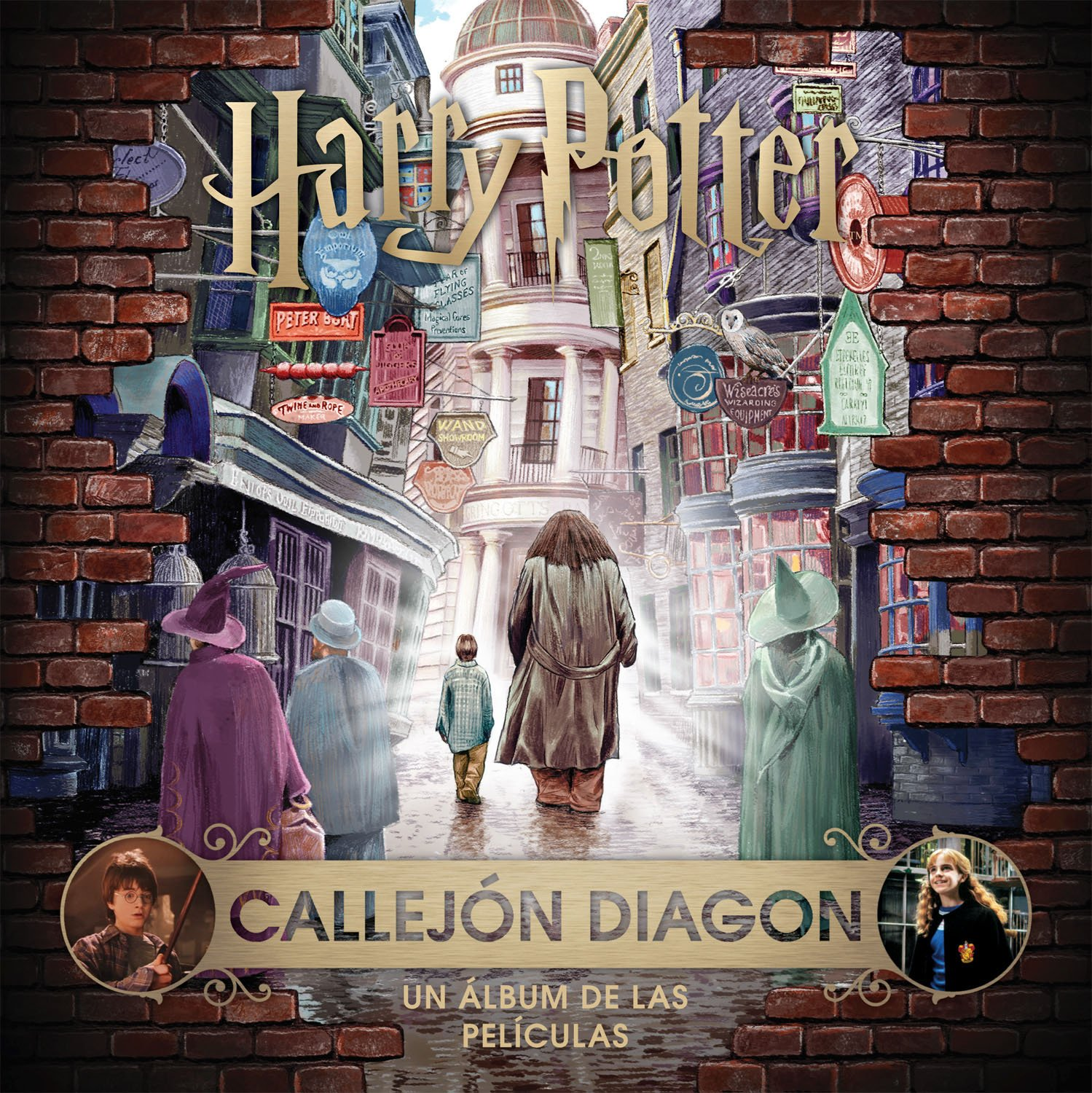 J.K. Rowlings Wizarding World: Callejon Diagon. Un álbum de las películas: Amazon.es: Jody Revenson: Libros