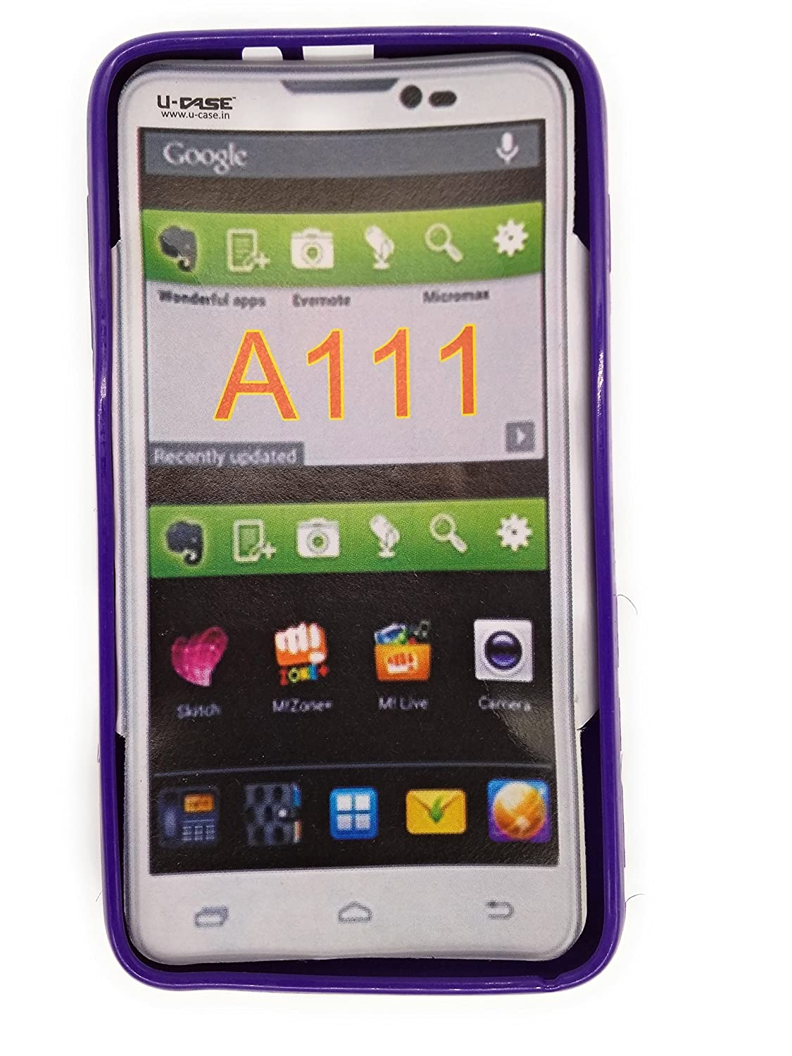 quality design d36c7 1fb64 Micromax Canvas A111 Back Case: Amazon.in: Electronics