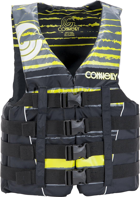 早割クーポン! Connelly Skis by Men's CWB Nylon Volt 4-Buckle Nylon Vest, Large by CWB B016UEYG7W, ベッド ソファ通販のShooting Star:27578573 --- arianechie.dominiotemporario.com