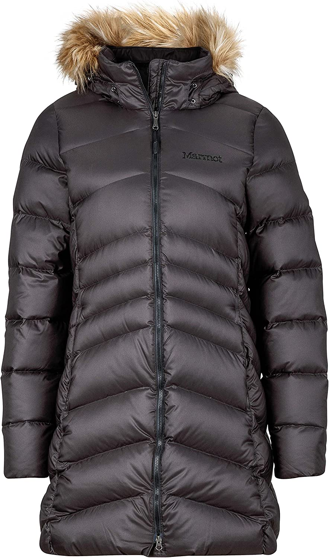 Marmot Women's Montreal Knee-length Down Puffer Coat: Clothing