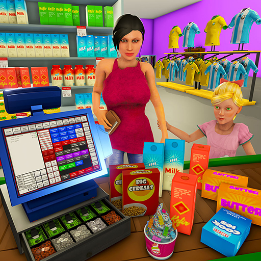 Supermarket Cashier Simulator: Shopping Games (And Store Apps Games Play)