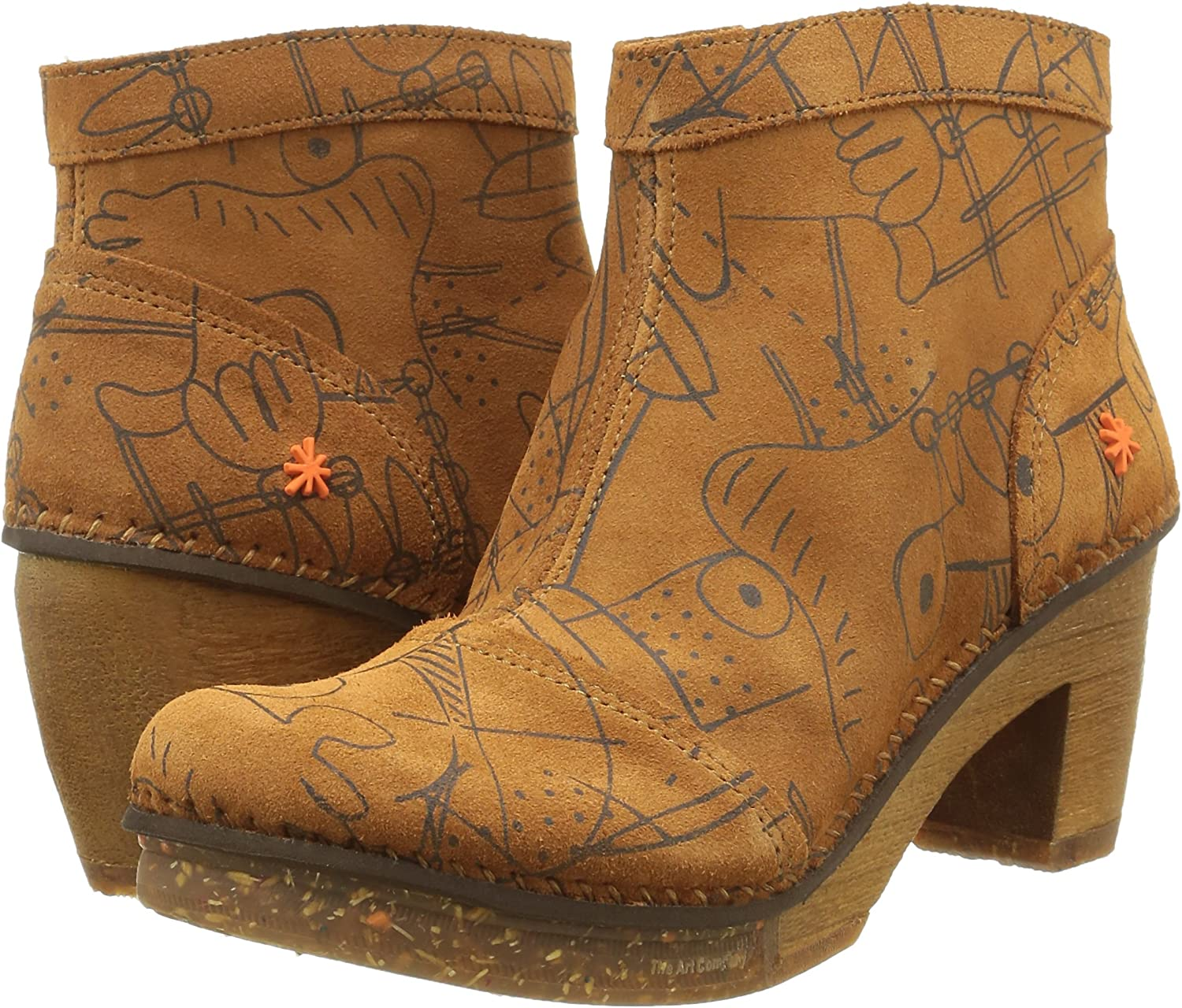 Art Womens Amsterdam Ankle Boots 316