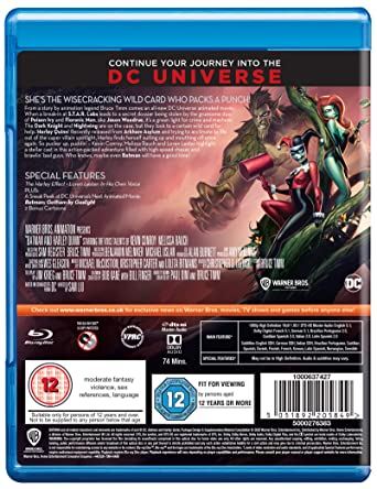 Batman And Harley Quinn Edizione: Regno Unito Reino Unido Blu ...