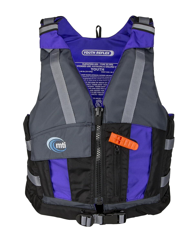 MTI Adventurewear Youth Reflex (50 – 90ポンド、50 – 90ポンド、ブラック/グレープ