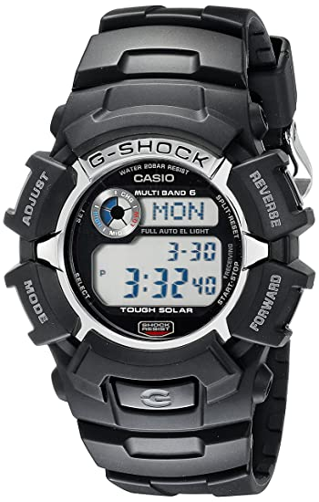 d4992cf732eb Casio Men s G-Shock GW2310-1 Tough Solar Atomic Black Resin Sport Watch