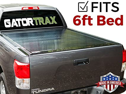 812745d49bf Image Unavailable. Image not available for. Color  Gatortrax Retractable ( fits) 2005-2015 Toyota Tacoma 6 Foot Bed Only Gloss Truck
