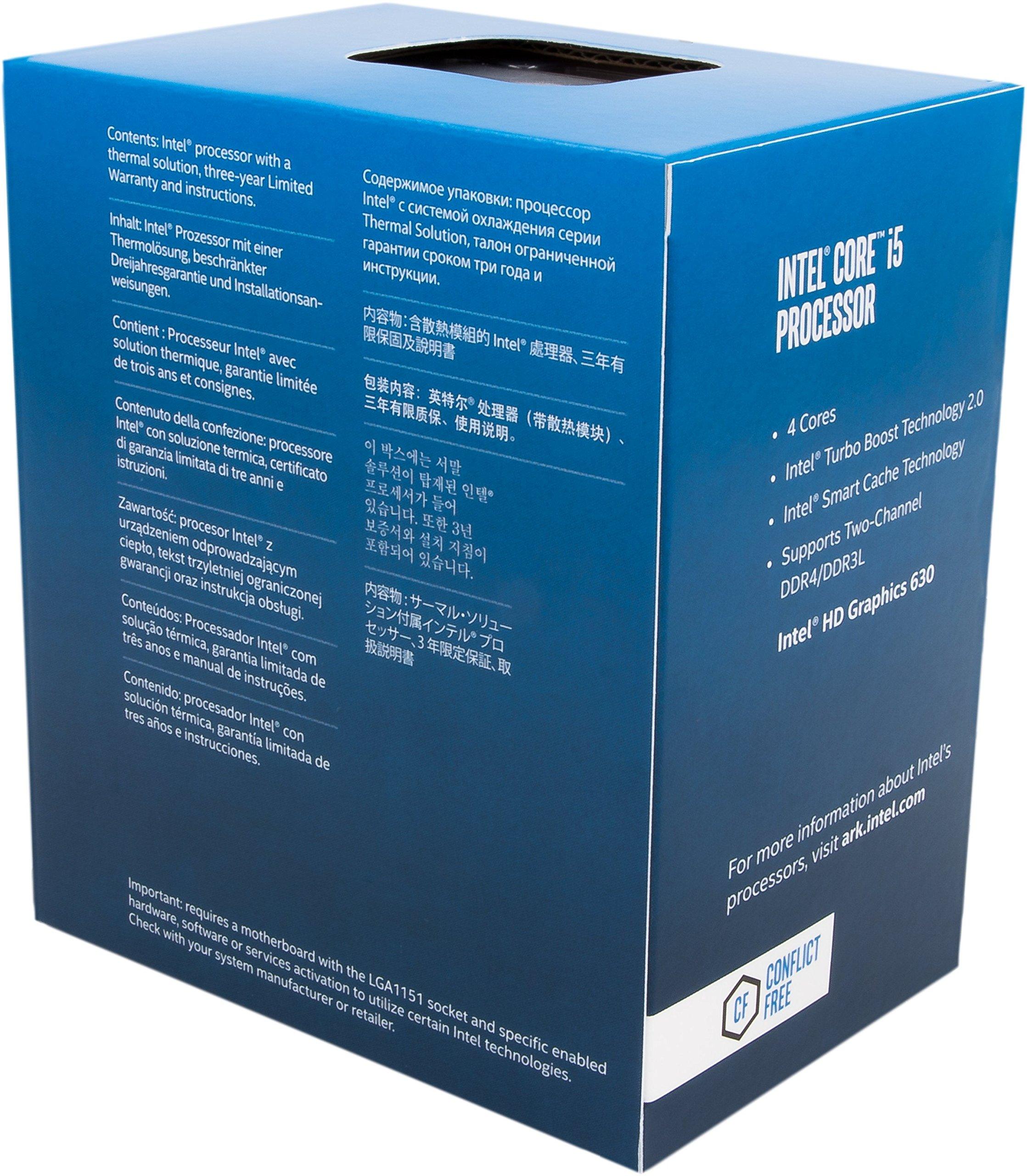 Intel BX80677I57600 7th Gen Core Desktop Processors by Intel