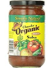 Simply Natural Organic Salsa-Chunky-Medium, 470Ml