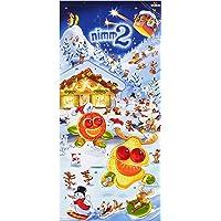 Storck nimm2 Adventskalender, Leckere Vielfalt & Spaß für jeden Tag in der Adventszeit (1 x 300g) inkl. Weihnachtsgeschichte & 2 kleinen Geschenken