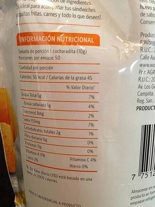 Amazon.com : Aji Criollo - Peruvian Creole Sauce - 500 grams - Supermercados Wong : Hot Sauces : Grocery & Gourmet Food