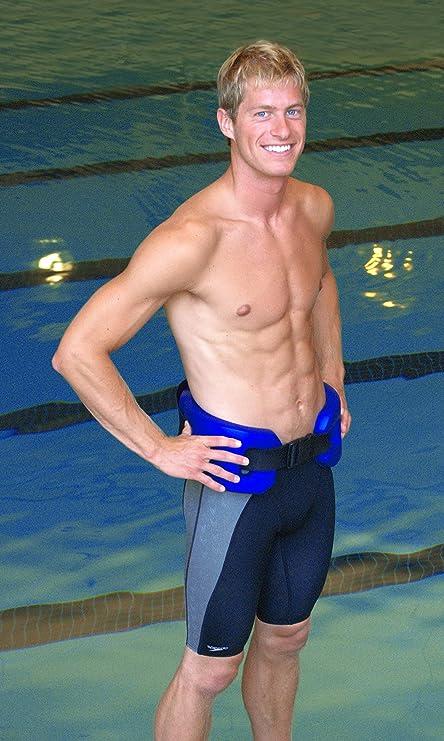 watergym agua cinturón flotador para Aqua de aeróbic correr y ejercicio y pérdida de peso de aguas profundas DVD/CD de música/Cue Card- tamaño ...