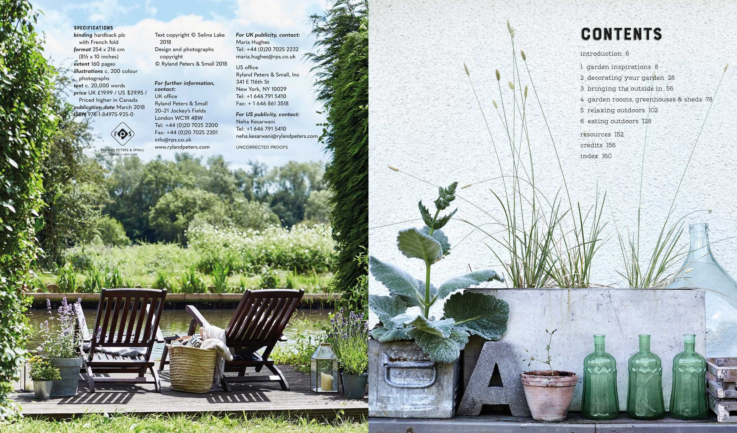 Selina Lake Garden Style Inspirational Styling for your Outside