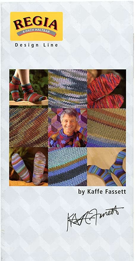 Amazon Regia Design Line Sock Knitting Pattern For Men Women