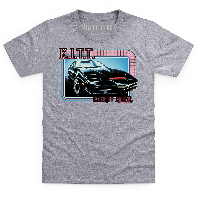 Official Knight Rider KITT Kid's T Shirt, Kid's: Amazon co