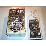 2009/10 Upper Deck Michael Jordan Legacy Hall of Fame Edition Factory Set Box NBA