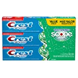 Crest Complete Whitening Plus Scope Toothpaste - Minty Fresh, Net Wt. 6.2 oz(175 g) (Pack of 3)