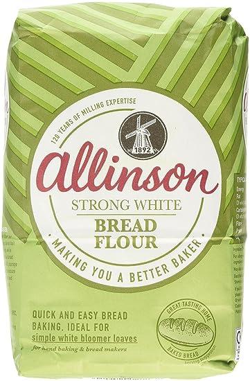Allinson Strong White Bread Flour, 1 5kg
