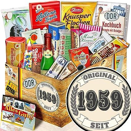 Original Seit 1959 Geschenk Ost Sussigkeiten Geschenk Zum 60