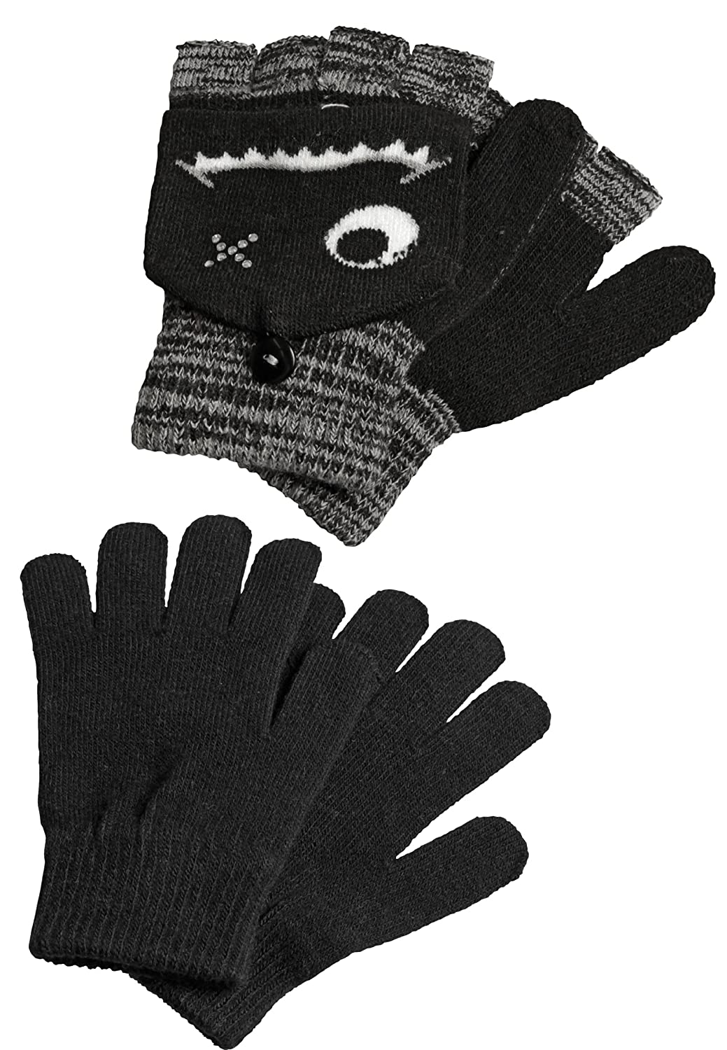 Capelli New York Damen Handschuhe-Set 'LITTLE MONSTER'