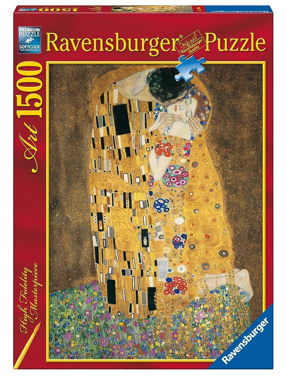 Ravensburger - Klimt, El Beso, puzzle de 1500 piezas (16290 1 ...