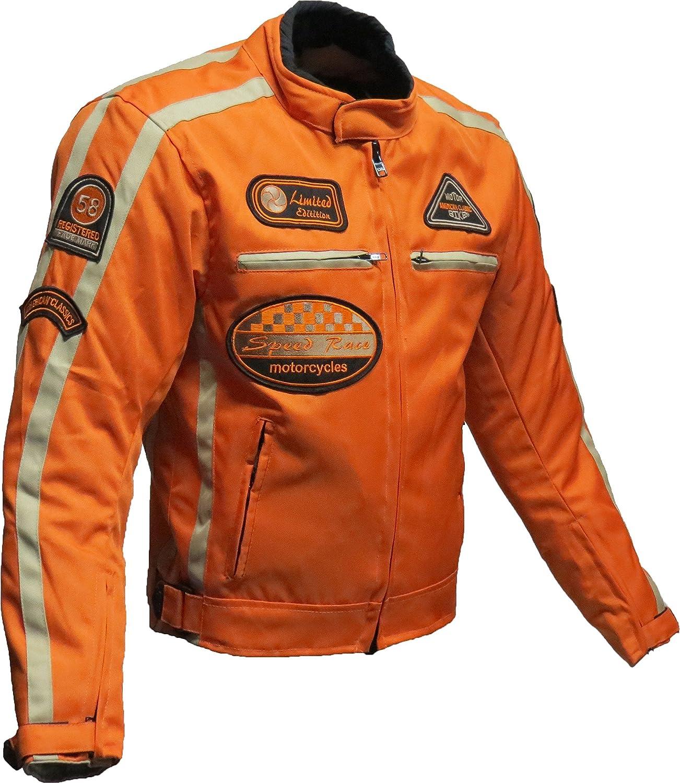 BOS Motorrad Jacke Motorrad Jacke orange Motorrad Jacke S Orange