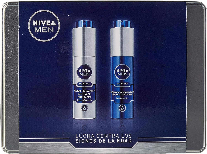 Nivea Men Active Age Kit de Regalo para Hombre con Cremas con ...