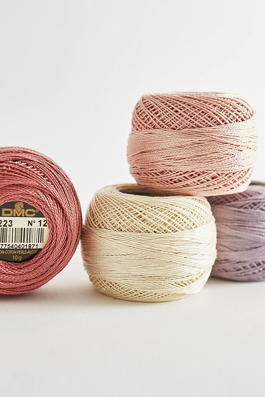 DMC 116 8-762 Pearl Cotton Thread Balls Very Light Pearl Grey Size 8
