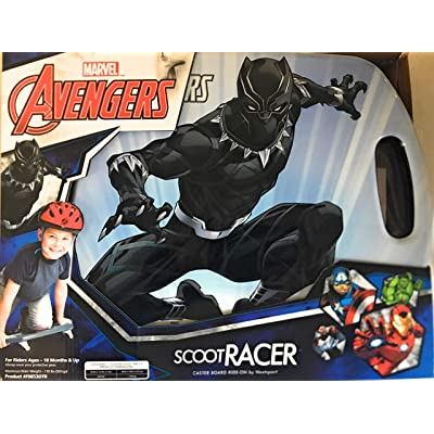 Scoot Racer Black Panther: Sports & Outdoors