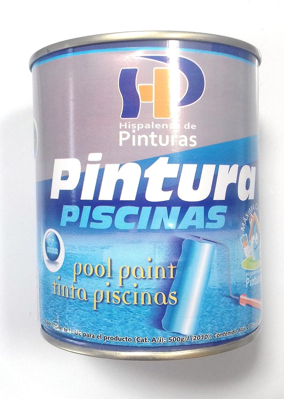 PINTURA DE PISCINA AL DISOLVENTE CLOROCAUCHO 750 ML (BLANCA) HISPALENSE DE PINTURAS
