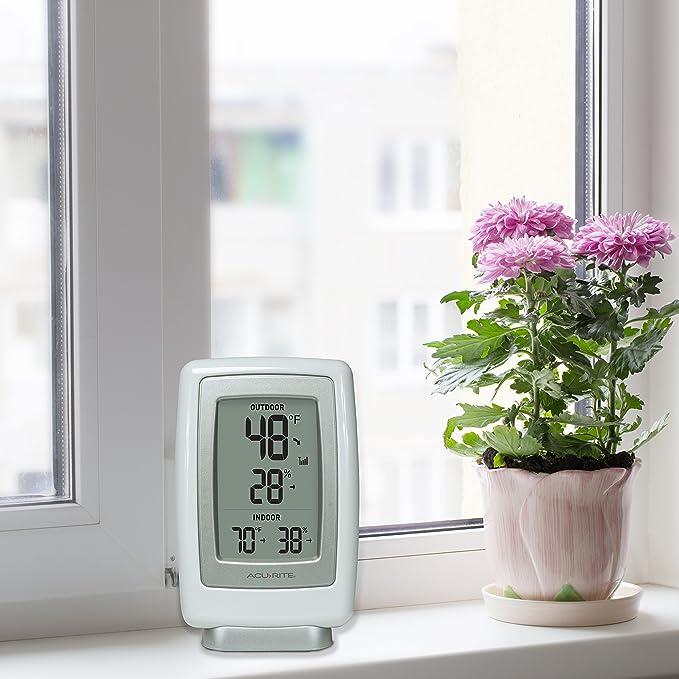 Chaney Instruments AcuRite 00611 A3 - Termómetro inalámbrico para interior/exterior y sensor de humedad: Amazon.es: Hogar