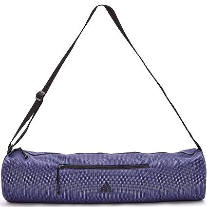 adidas Bolsa de Estera de Yoga - Azul: Amazon.es: Deportes y ...