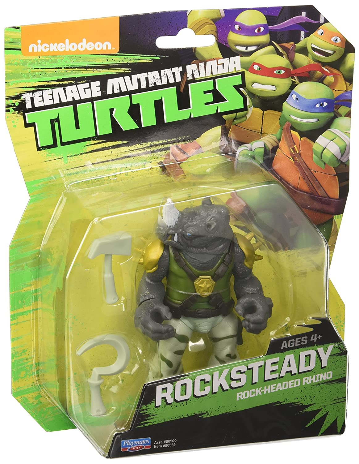 Teenage Mutant Ninja Turtles Figura de acción de Rocksteady ...