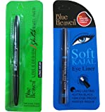 Blue Heaven Combo of (Line & Design Sketch Eyeliner) & (Soft kajal)