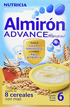 NUTRICIA Almirón advance papilla de 8 cereales con miel 500g