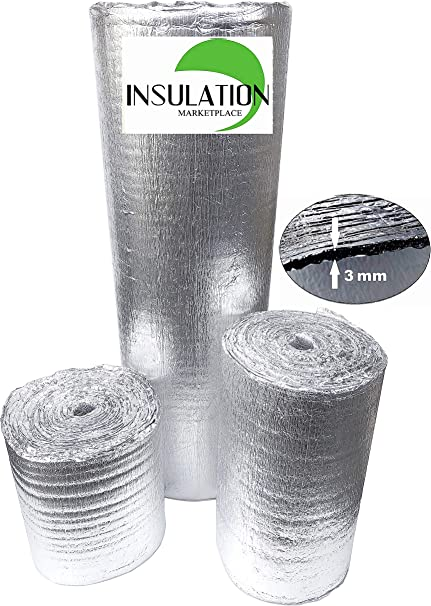 "Reflective Foam Insulation Heat Shield Thermal Insulation Shield 24/""x200ft"