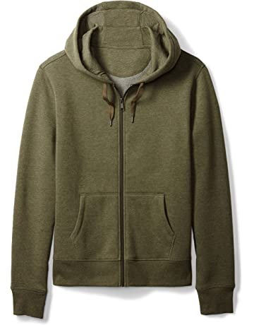 1a958b347ec9 Amazon Essentials Men s Full-Zip Hooded Fleece Sweatshirt