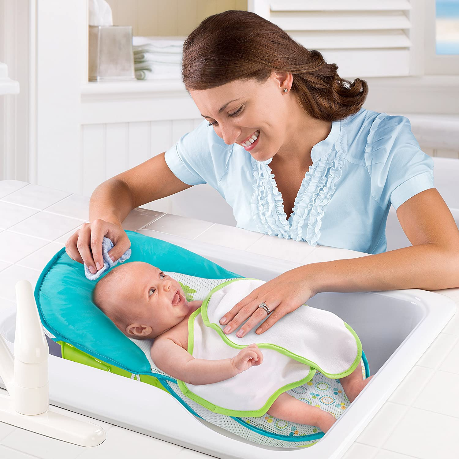 Summer Bath Sling with Warming Wings : Baby