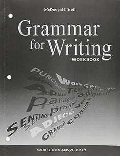 Mcdougal littell literature grammar for writing workbook grade 9 mcdougal littell literature grammar for writing workbook answer key grade 9 fandeluxe Images