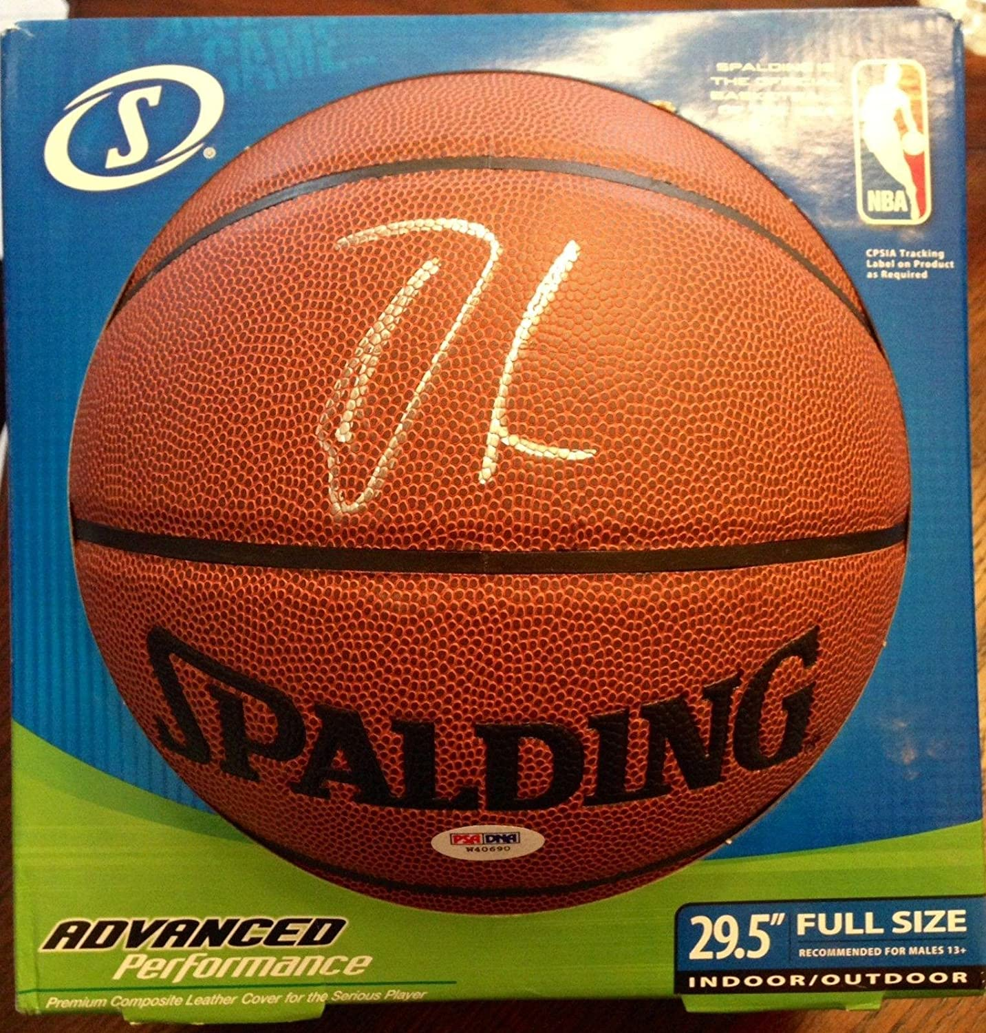 Damian Lillard Signed Basketball - Full Size COA - PSA/DNA Certified - Autographed Basketballs Sports Memorabilia
