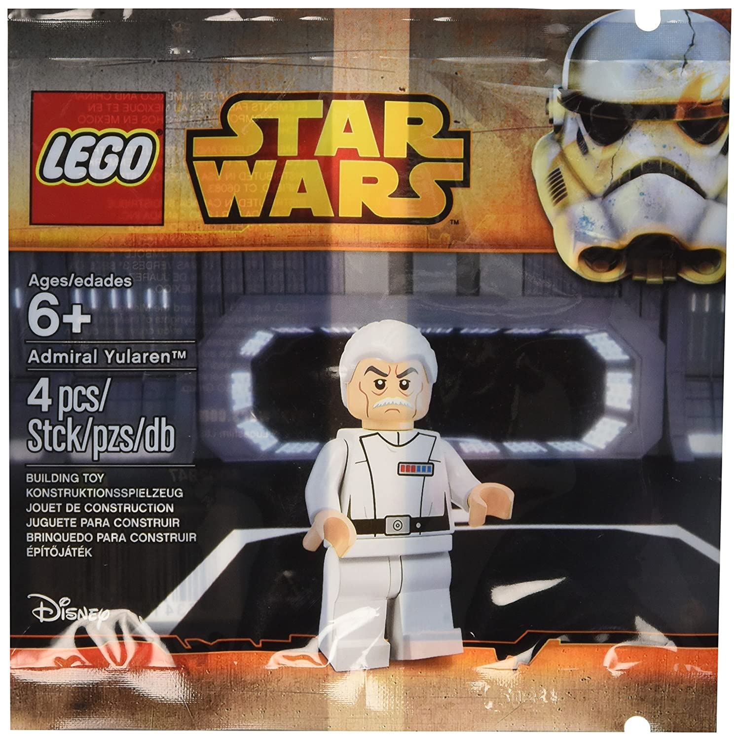 LEGO Star Wars The Clone Wars Admiral Yularen Mini Set #5002947 [Bagged]