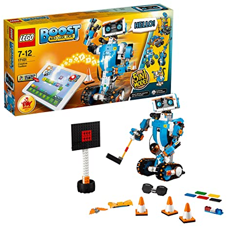 LEGO 17101 Kreativer Wergzeugkasten Bausteine, Bunt