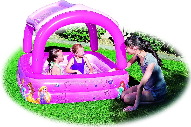 Piscina Hinchable Infantil con Parasol Bestway Princesas Disney ...