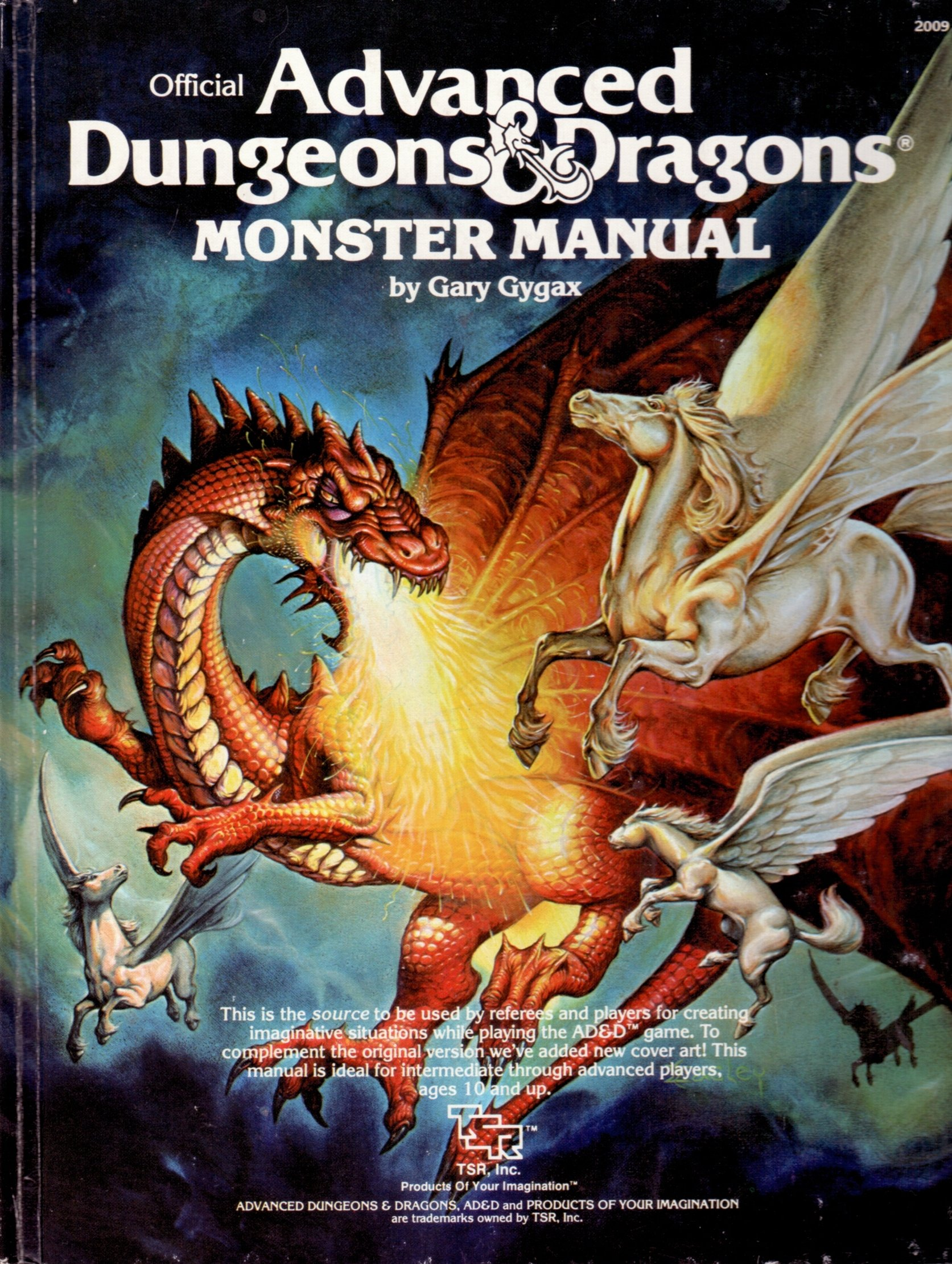 Advanced Dungeons & Dragons Monster Manual, 4th Edition: Gary Gygax:  Amazon.com: Books