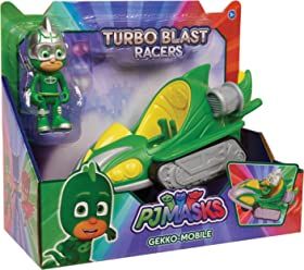 Just Play PJ Masks Turbo Blast Vehicles-Gekko
